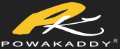 Logo for Powakaddy golf trolleys