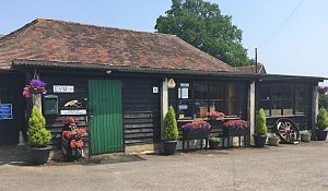 EVM shop Headcorn, outside